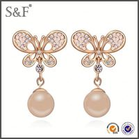 Cheap Prices!! Latest Design Popular Zircon diamond plug earring body jewelry