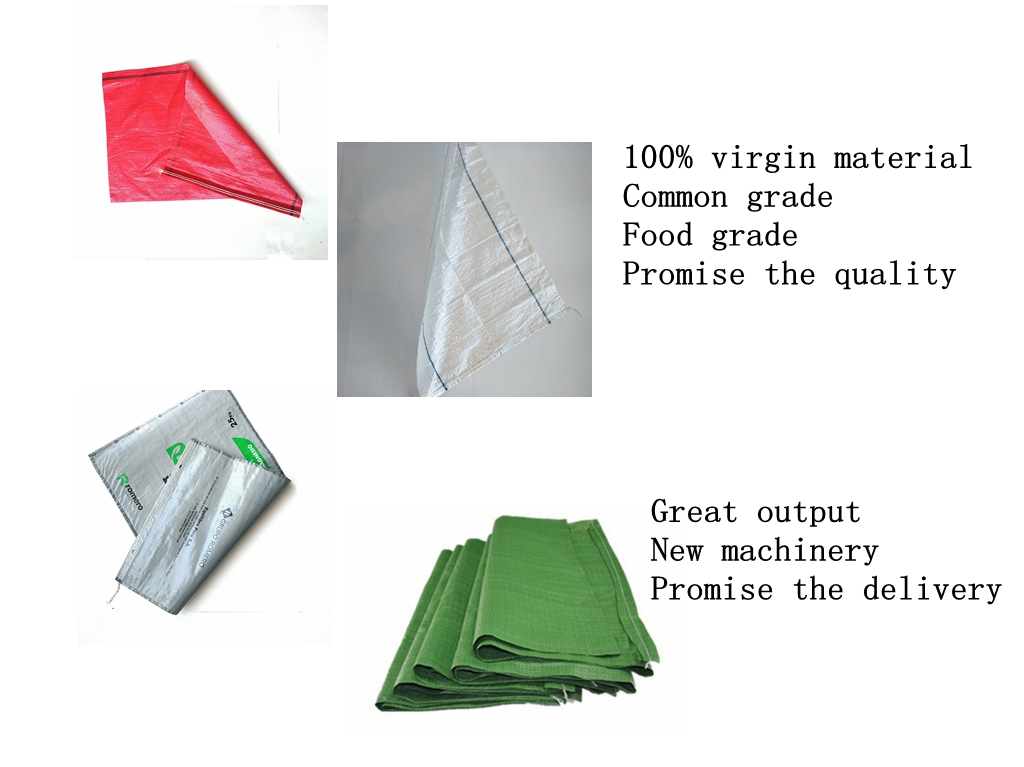 China suppliers recyclable direct supply white black color 50kg pp woven sand bag 25kg flood small sack sandbag to America