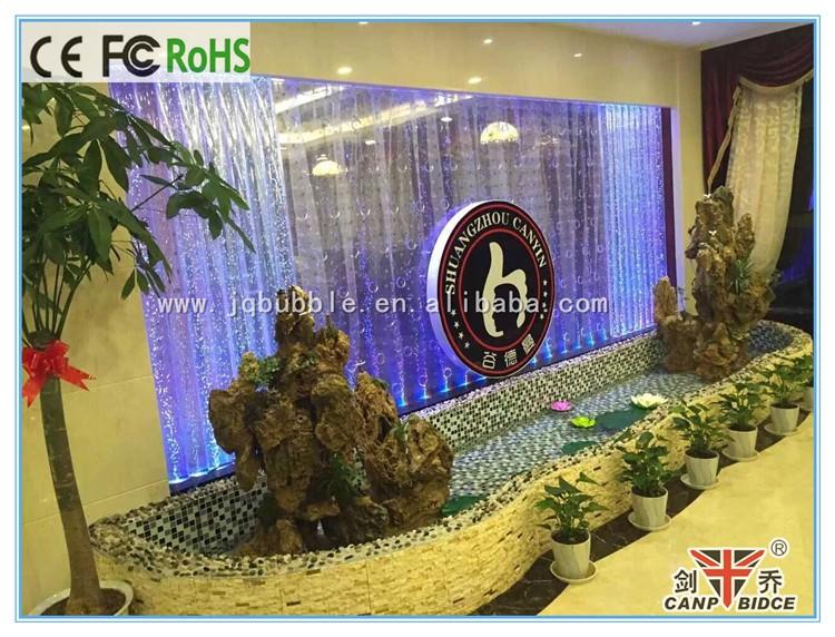 Interieur water muur aquarium ornamenten scheidingswand for Aquarium interieur