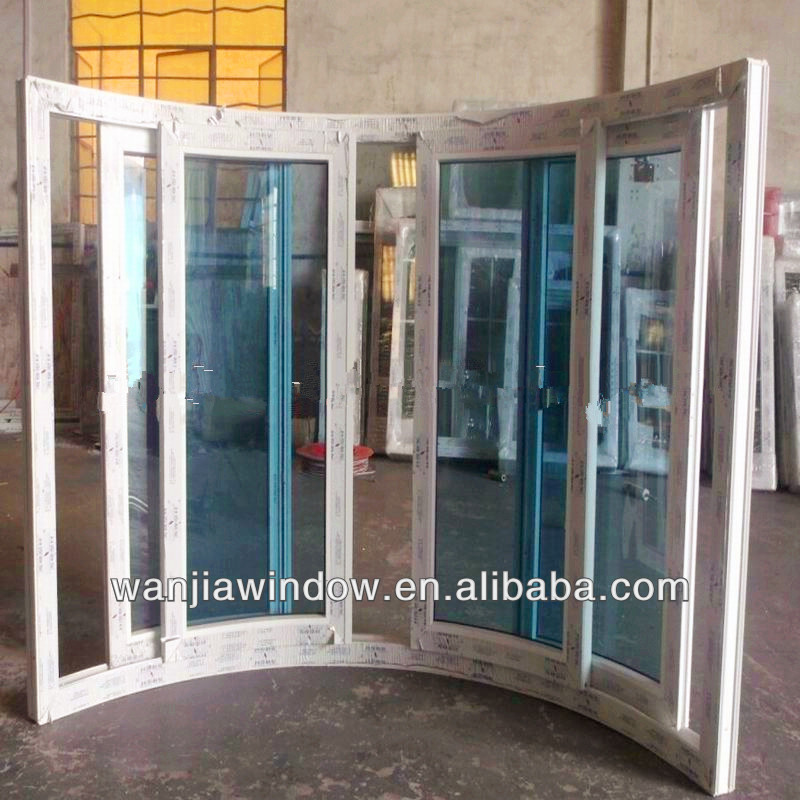 wanjia factory wholesale curved sliding window