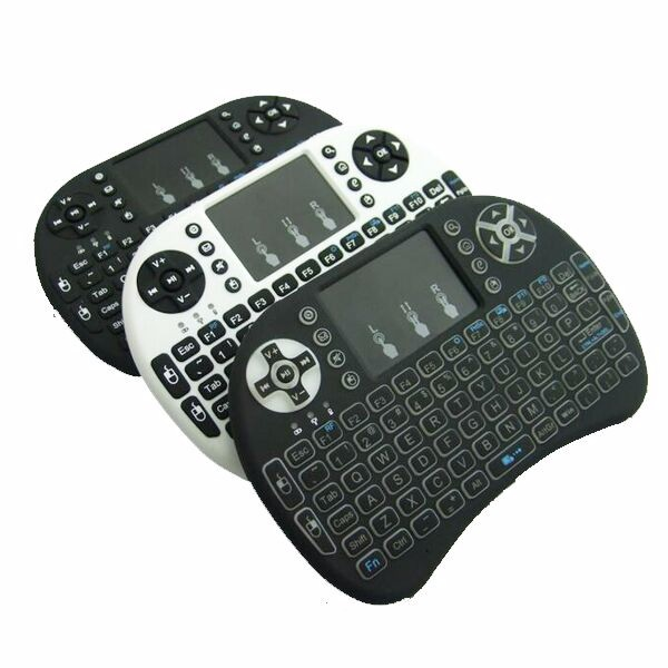 Fast shi[pping r2 i8 keyboard Mini Electronic Gaming Mechanical USB Touchpad 4.2G Wireless Mouse Keyboard For Android