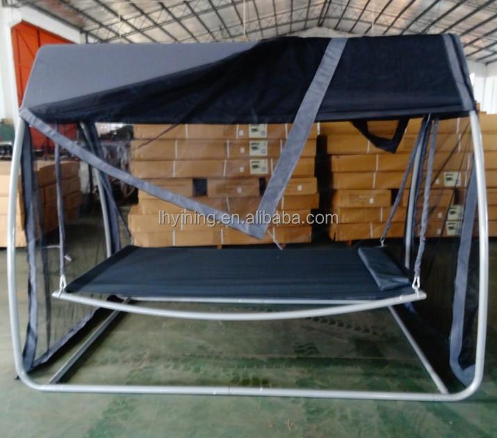lit balan oire d 39 int rieur hamac avec moustiquaire. Black Bedroom Furniture Sets. Home Design Ideas