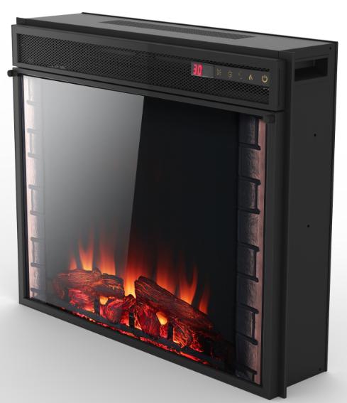 7 color lighting charmglow electric fireplace buy