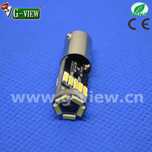 Auto led manufacturer Gview ba9s 4014 led, 15smd 4014 canbus led T4w,H6w canbus led