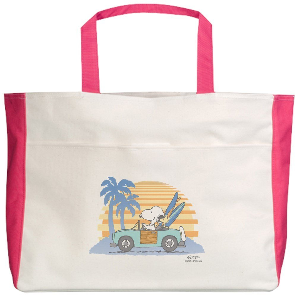190314e4901 Get Quotations · CafePress Beach Tote - Snoopy Beach Tote