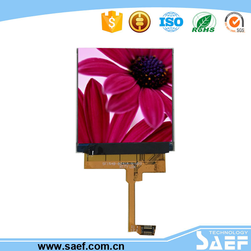 1.5 inch square tft lcd display with 320*320 resolution with MIPI interface