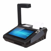 7 Inch Small Touch Screen Business Finance Pos With Ticket Printer