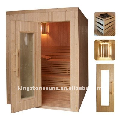 New style traditional steam sauna room/cabin/cabinet
