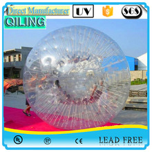 2016 popular and Cheap rolling inflatable zorb water ball sport game.water zorb balls price with high quality for sale
