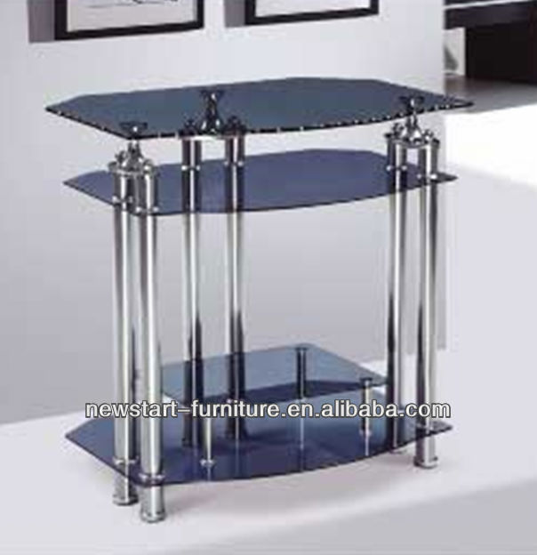 HeBei Newstart TV025/ 3 tier lcd tv rack bases in living home furniture