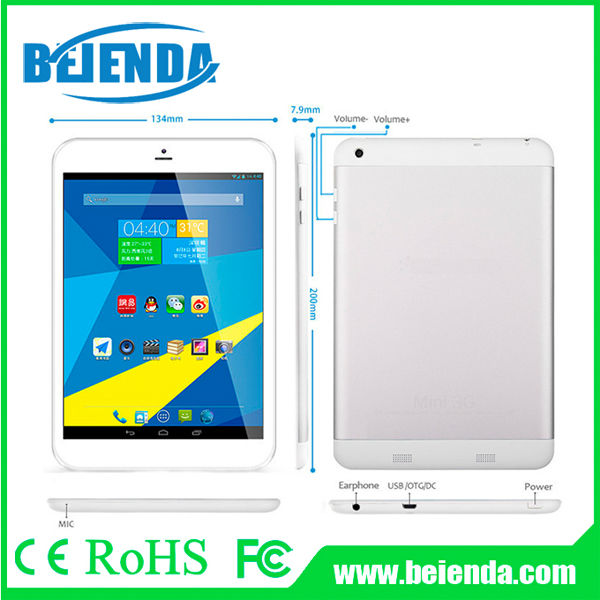 new 7.85 inch tablet pc android 4.4 kitkat system 1G 8G IPS display 1024 X 768 pixels 3G phone calling GPS BT, FM TV HDMI