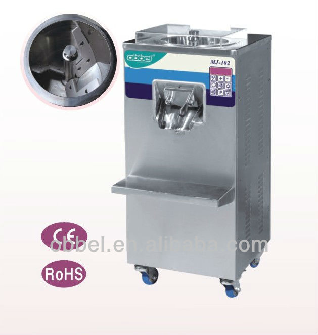 hot sale hard ice cream batch freezer