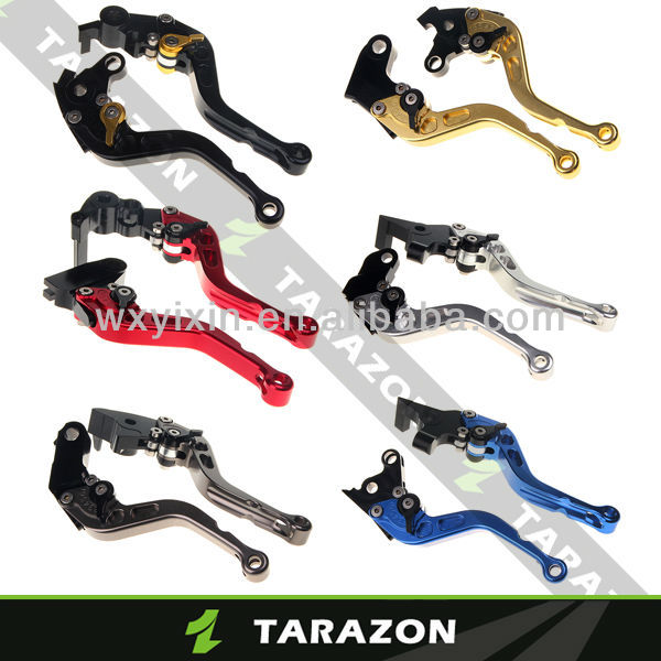 Suzuki GSXR1300 Hayabusa CNC Billet Alloy Aluminium Adjustable Short Motorcycle Brake Clutch Lever