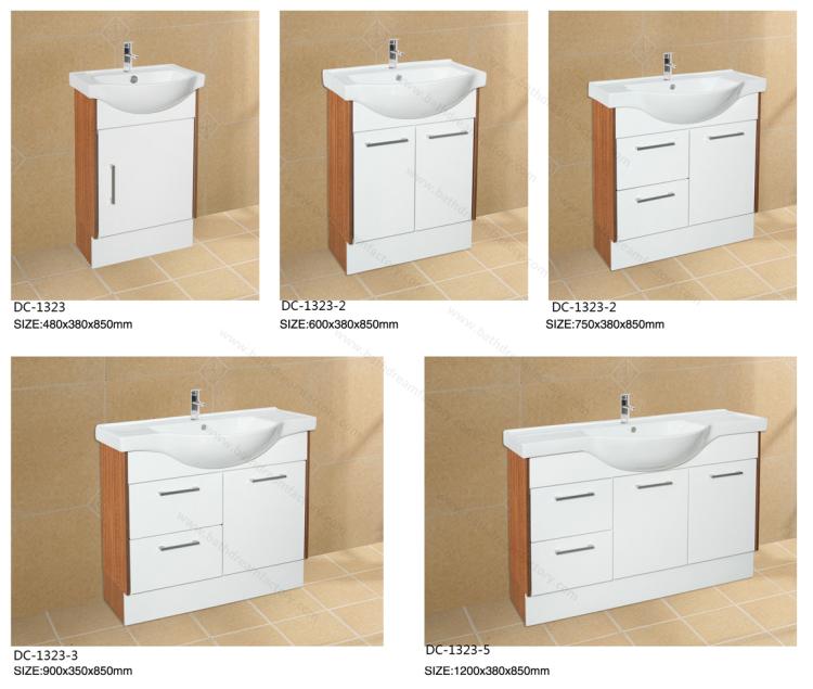 Cheap 12 Inch Deep Bathroom Vanity& Italy Stye Bathroom