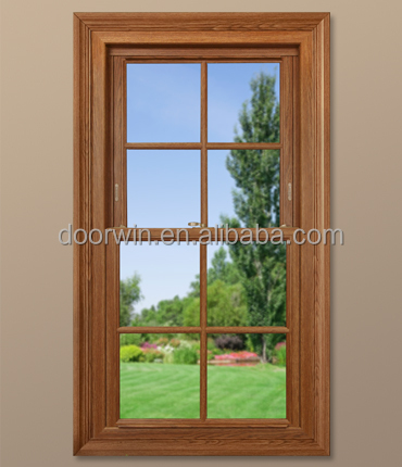 Double glazing aluminum double hung window single hung for Window treatments for double hung windows