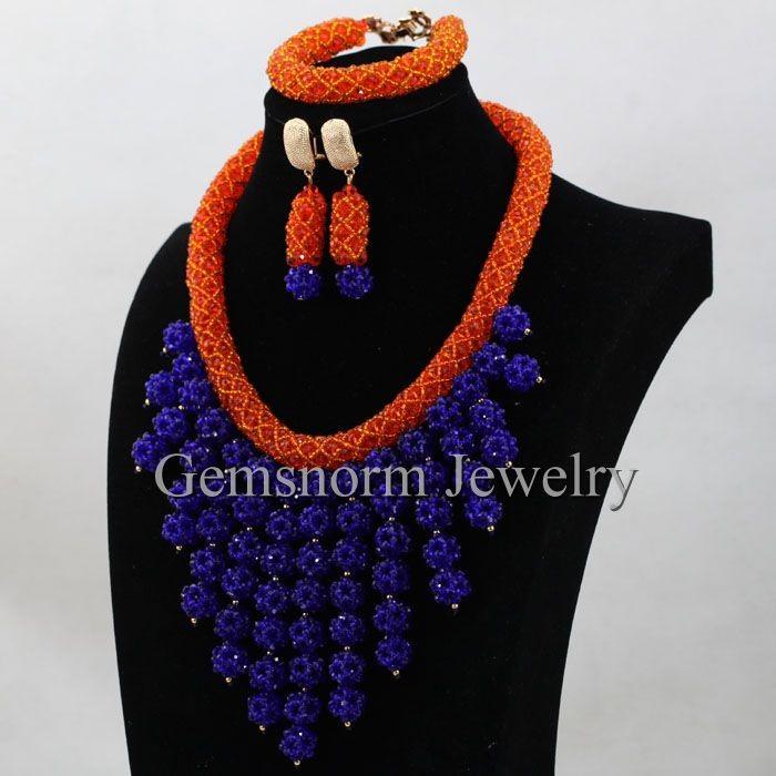 Gemsnorm Jewelry Wholesale Fashion Unique Design Nigerian Blue ...