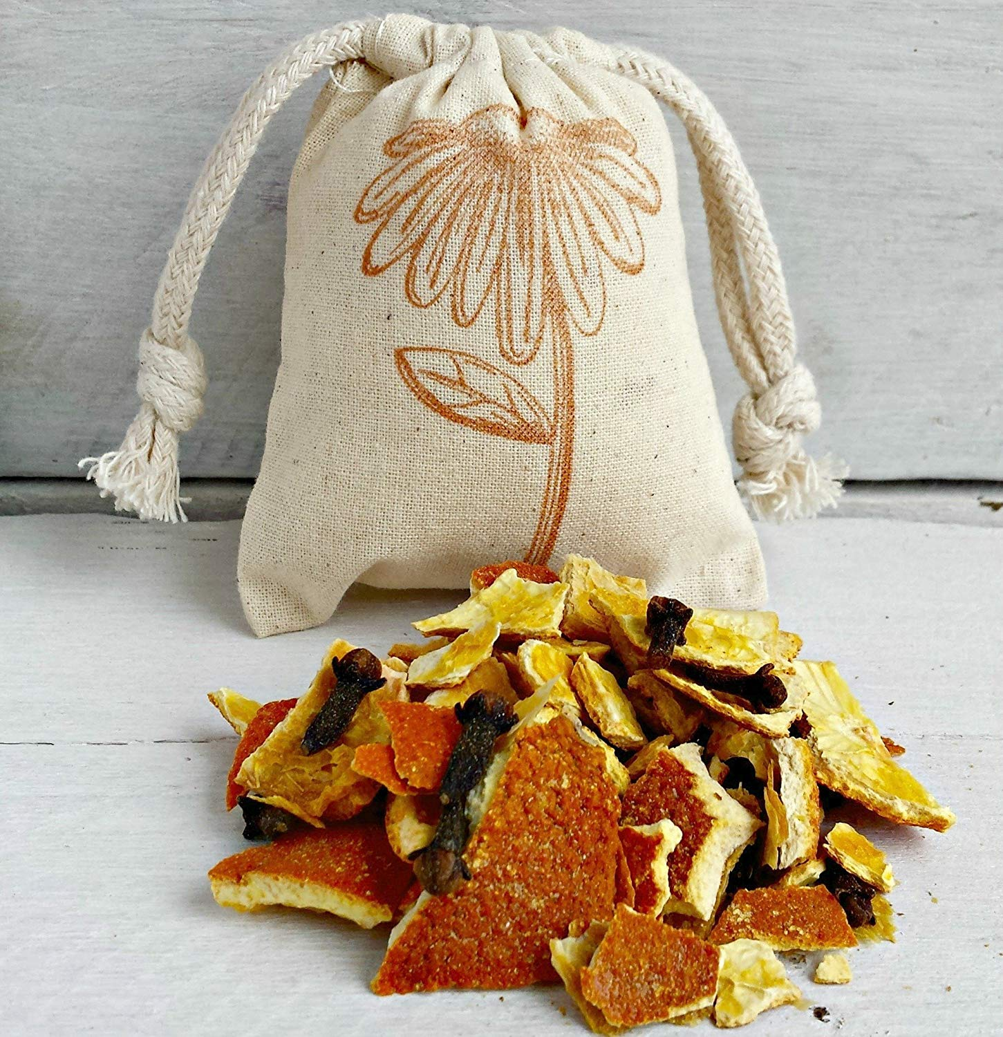 Orange Clove Sachets | Aromatherapy | Orange Clove Scented Sachets | Sachet Bags | Sachet Favors | Orange Wedding Favor | Scented Drawer Bag