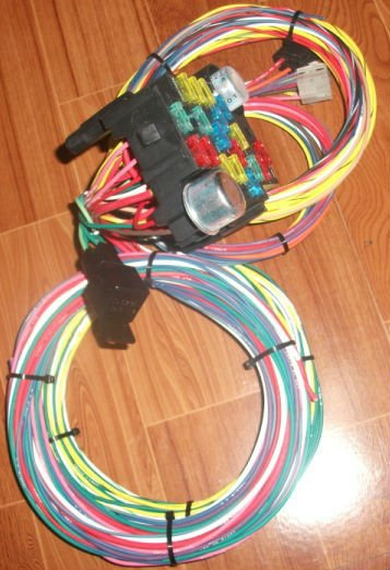 Ez Wiring 12 Circuit Mini Hot Rod Harness Diagram Data Schema