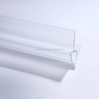 High Transparent Clear Pvc Waterproof Weather Seal Strips Plastic