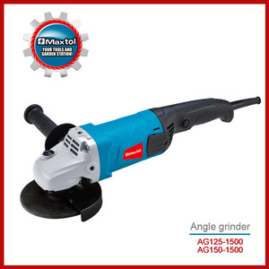 MAXTOL power tools 1500w 125mm manual angle grinder/manual tool cutter grinder