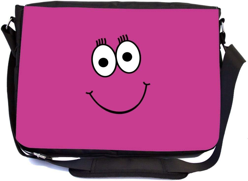 Rikki Knight Mustache Face Messenger Bag School Bag