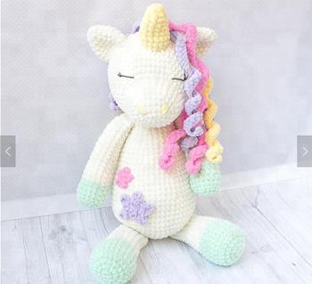 Big Plush Unicorn Crochet Pattern   Large Toy   Cuddle - Buy Plush  Toy,Stuff Animal,Plush Unicorn Product on Alibaba com