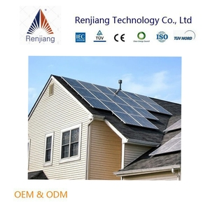 easy install high tech solar panel system 8kw for small home using