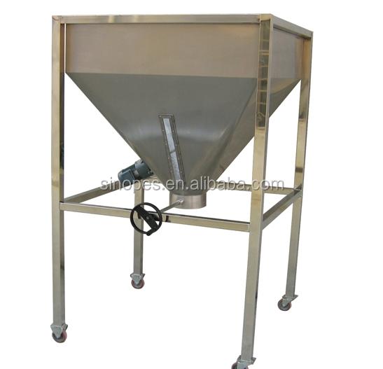 Vertical Granule & Powder Storage Bin, Mobil Storage Silo