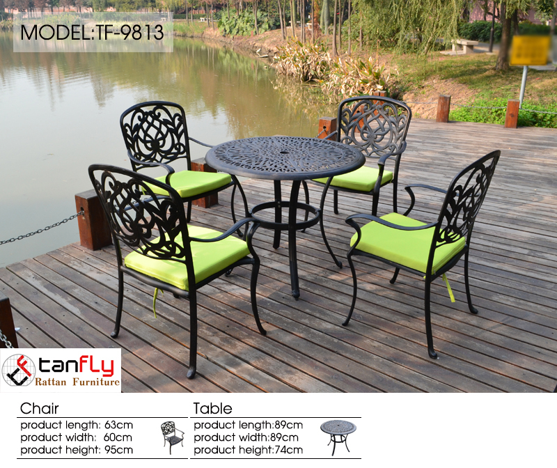 Cast Aluminum Rust-resistant Patio Furniture
