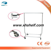 2016 New style Metal Clothes Hanger with wheels