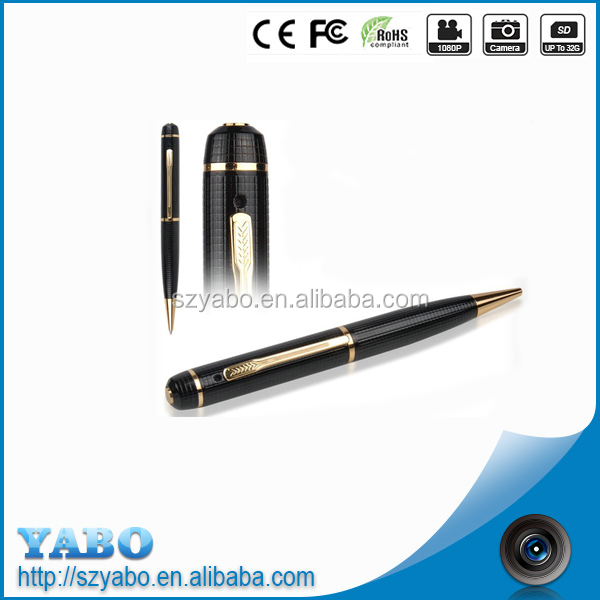 wireless security camera pen 720P hidden camera pen video office long time recording