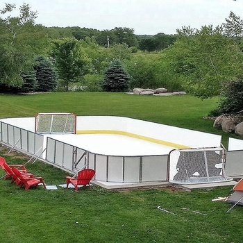 Synthetic Ice Rink Hockey Shooting Pad/backyard Rink For ...