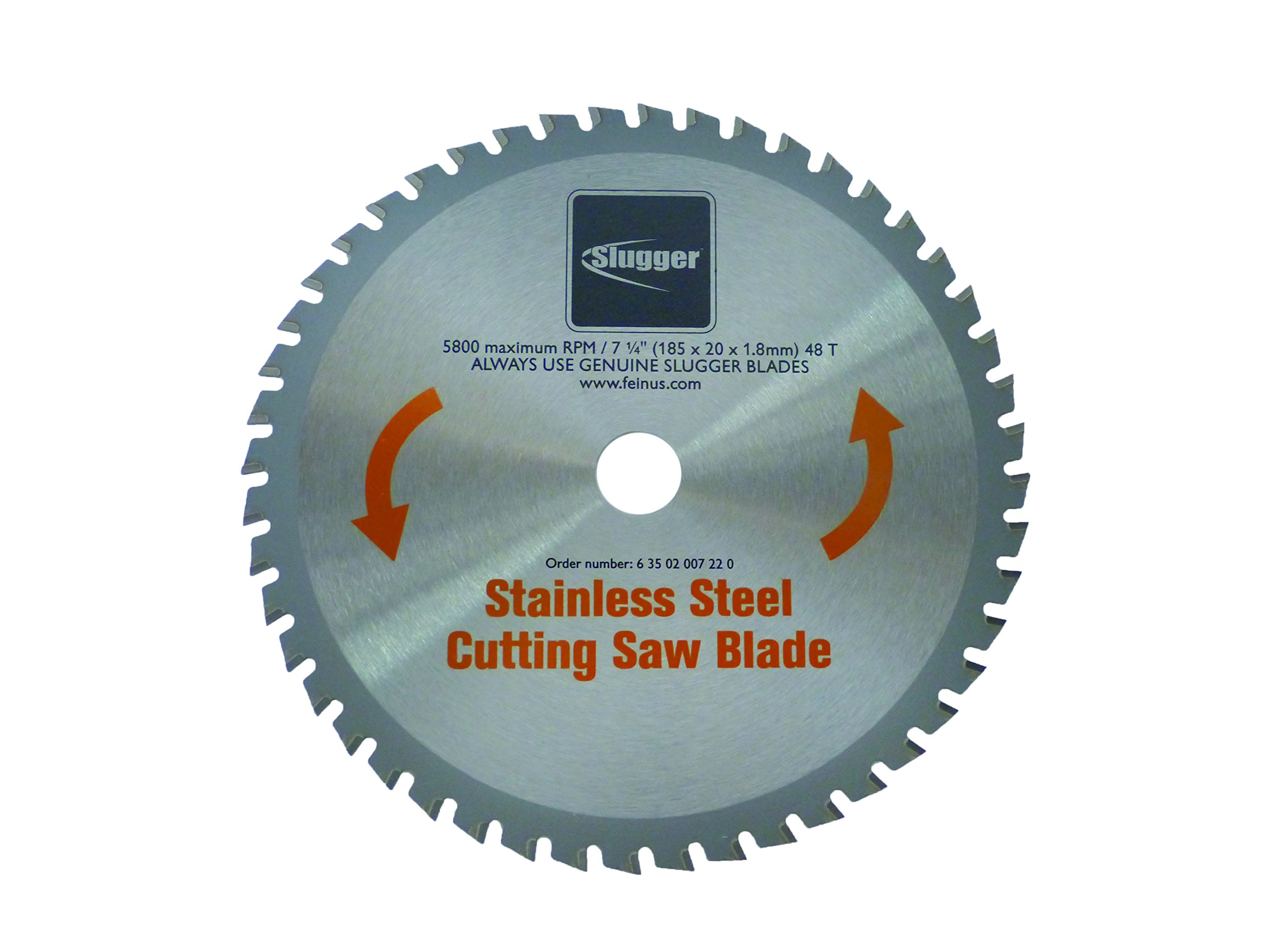 "Jancy SLUGGER Stainless Steel Blade, 7.25"", 1/4 Thickness"