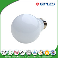 High quality 360deg led bulb lights b22 same size with incandescent bulb 6w e27 lamp shade