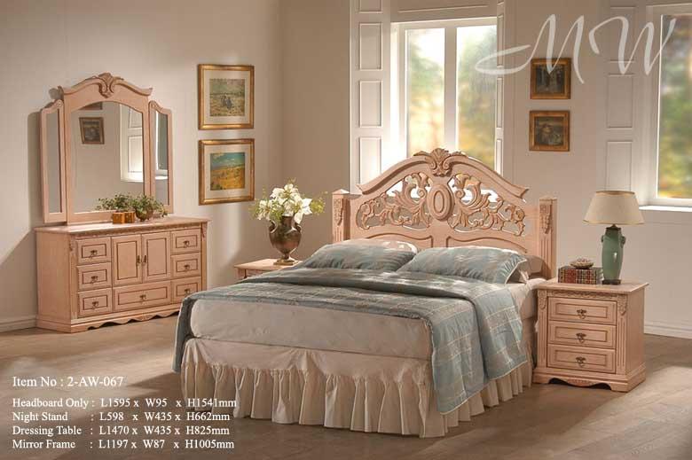 Emily Bedroom Set Rubberwood Solid Wood Furniture Product On Alibaba