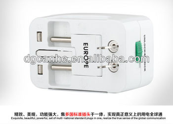 Multi Portable Socket With Circuit Breaker With Eu Uk Us Au ...