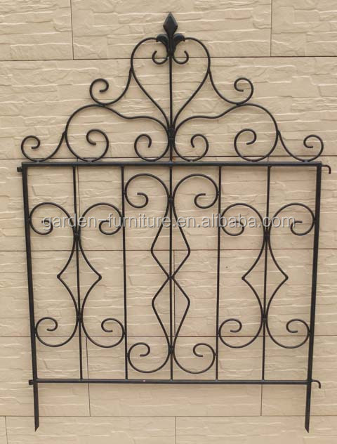 Short Metal Garden Fence Outdoor Lawn Edging Decorative Iron Fence,wire  Fence,metal Fence, View Iron Fence, Xinying Product Details From Anxi  Xinying ...