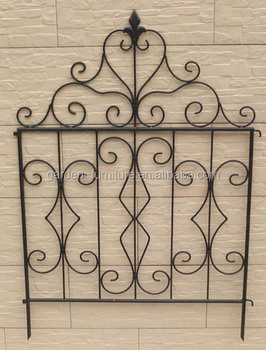 Short Metal Garden Fence Outdoor Lawn Edging Decorative Iron Fence,wire  Fence,metal Fence