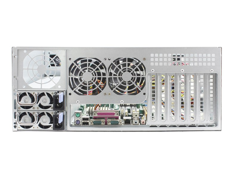ED424H65-E 4U 24bay rackmount server case with expanser backplane