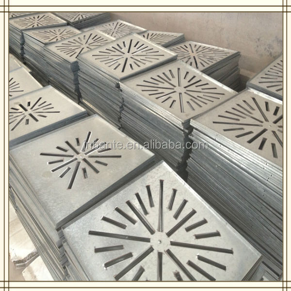 4 way supply ceiling aluminum air diffuser buy aluminum for Decorative diffuser
