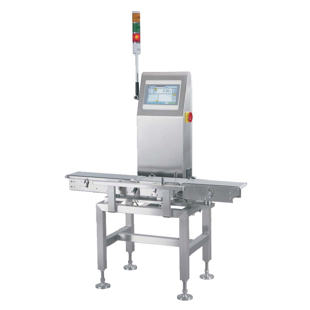 High precision automatic dynamic checkweigher machine for fish and chicken sorting and weighing