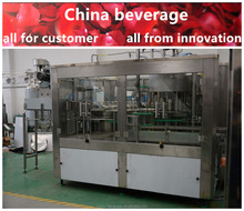 High quality electrical control soft drinks canning machine factory