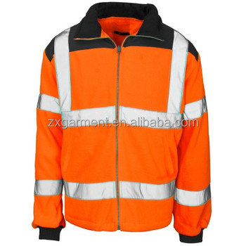 Hi Vis Fleece Jacket for road workers