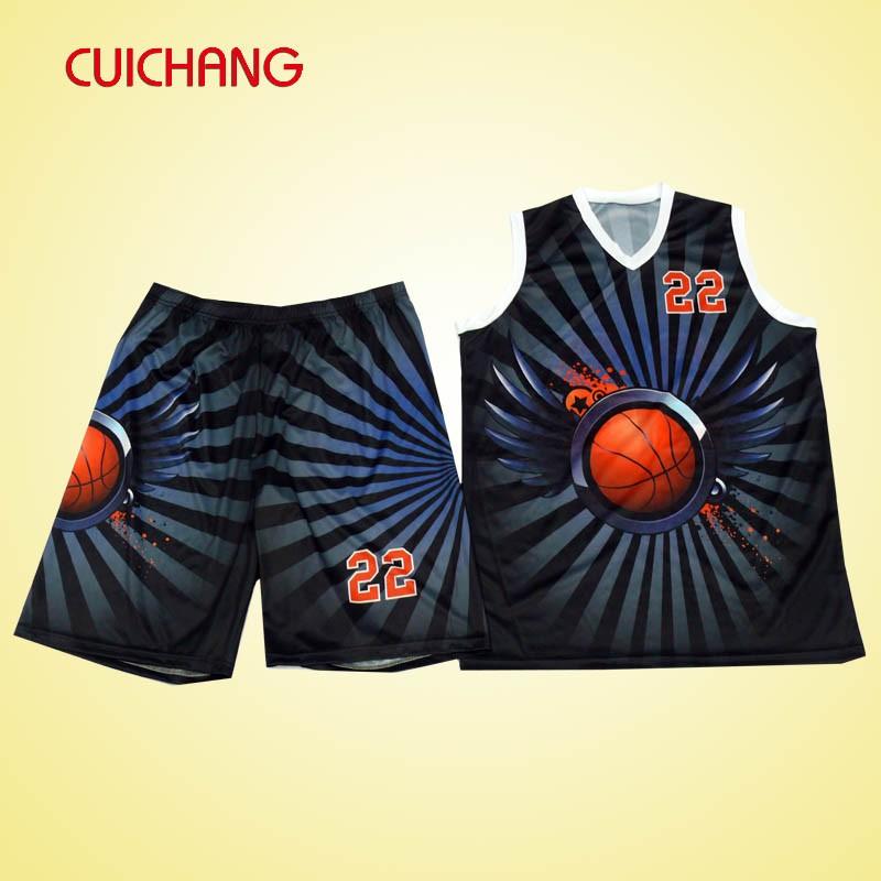 2016 Latest Sporttswear Basketball Jerseys Design Ab-268