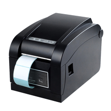 Cheap thermal label printer 20-82mm adhesive stickers impressora for warehouse and store USB QR ptinter xp-350b