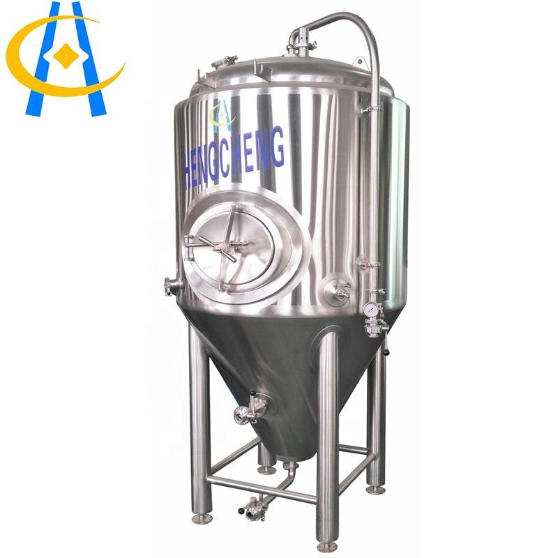 100l लीटर स्टेनलेस स्टील CE अनुमोदित बियर दबाव शंक्वाकार किण्वक