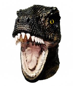 adult tyrannosaurus jurassic world t rex halloween mask