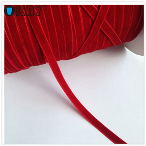 2 Red Velvet Ribbon Wholesale For Clothing Packaging