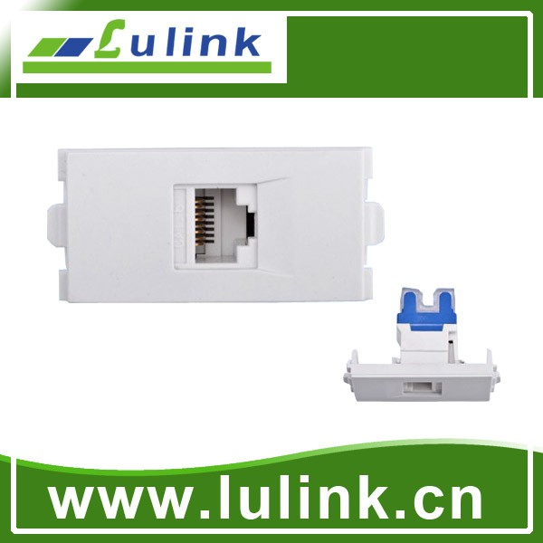 RJ45 Network Wall Plates/ /CAT6 network module faceplate