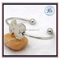 Handmade high quality silver bracelet bangles Jewelry